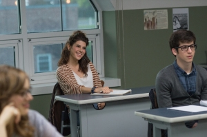 Marisa Tomei stars in THE REWRITE. ©RLJ / Image Entertainment. CR: Annie Joyce.