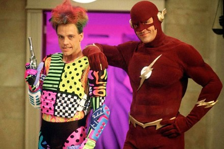 "Mark Hamill y John Wesley Shipp en la serie ""The Flash"" de 1990."